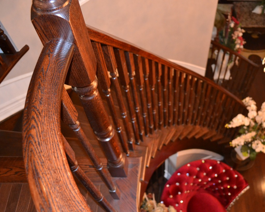 Durowood Flooring – Oak staircase recap and stain