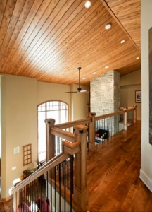 Durowood flooring – Wide plank stained maple hardwood