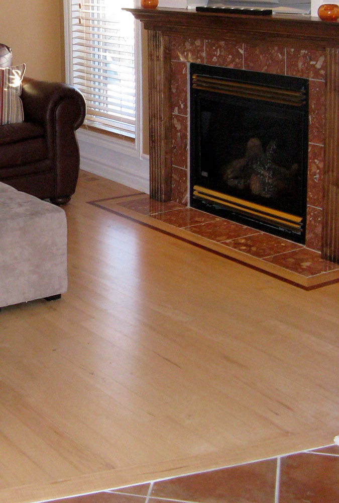 Borders And Inlays Hardwood Flooring And Staircase